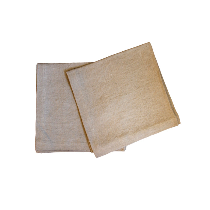 Napkins - Natural Softwashed Linen  napkins - PasParTou
