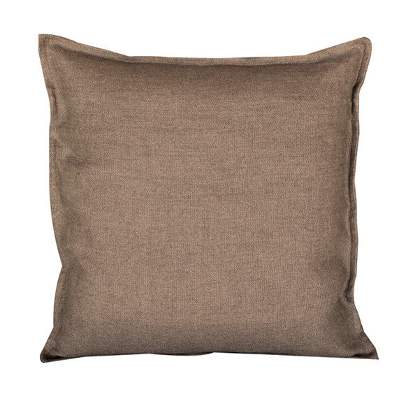 Pillow Soft Washed Linen Light Brown 20 x 20  Pillows - PasParTou
