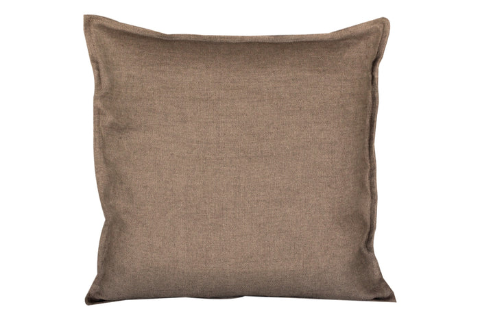 "Pillow Softwashed Linen Brown 16"" x 16""  Pillows - PasParTou"