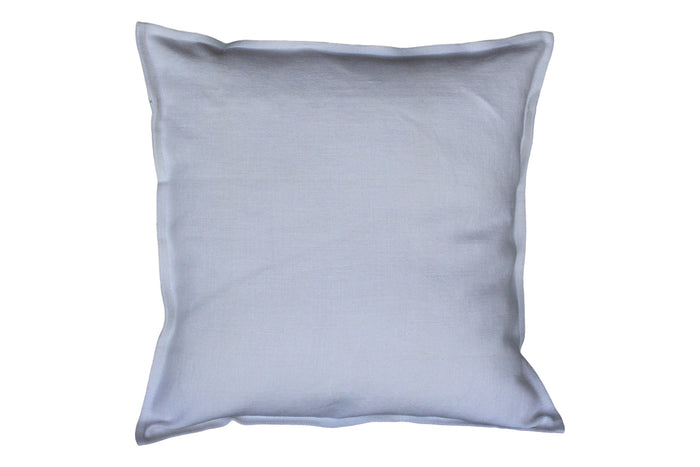 Pillow Softwashed Linen Light Blue 16 x 16""