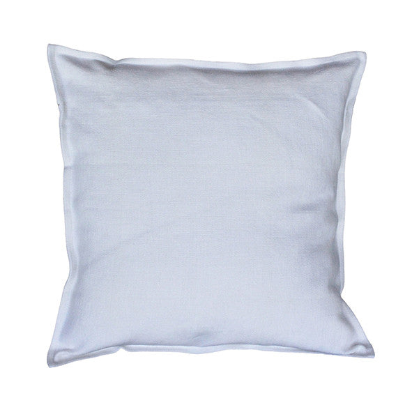 Pillow Soft Washed Linen Light Blue 20 x 20  Pillows - PasParTou