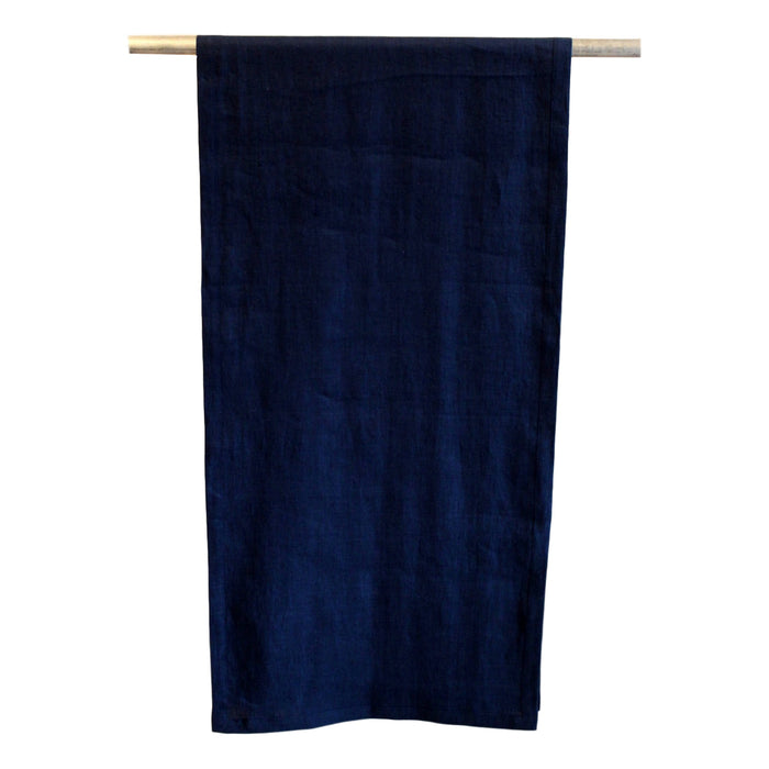 Runner - Softwashed Linen - Navy  Table runners - PasParTou