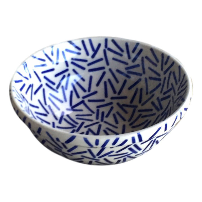 Op Art Blue - Salad Bowl - PasParTou