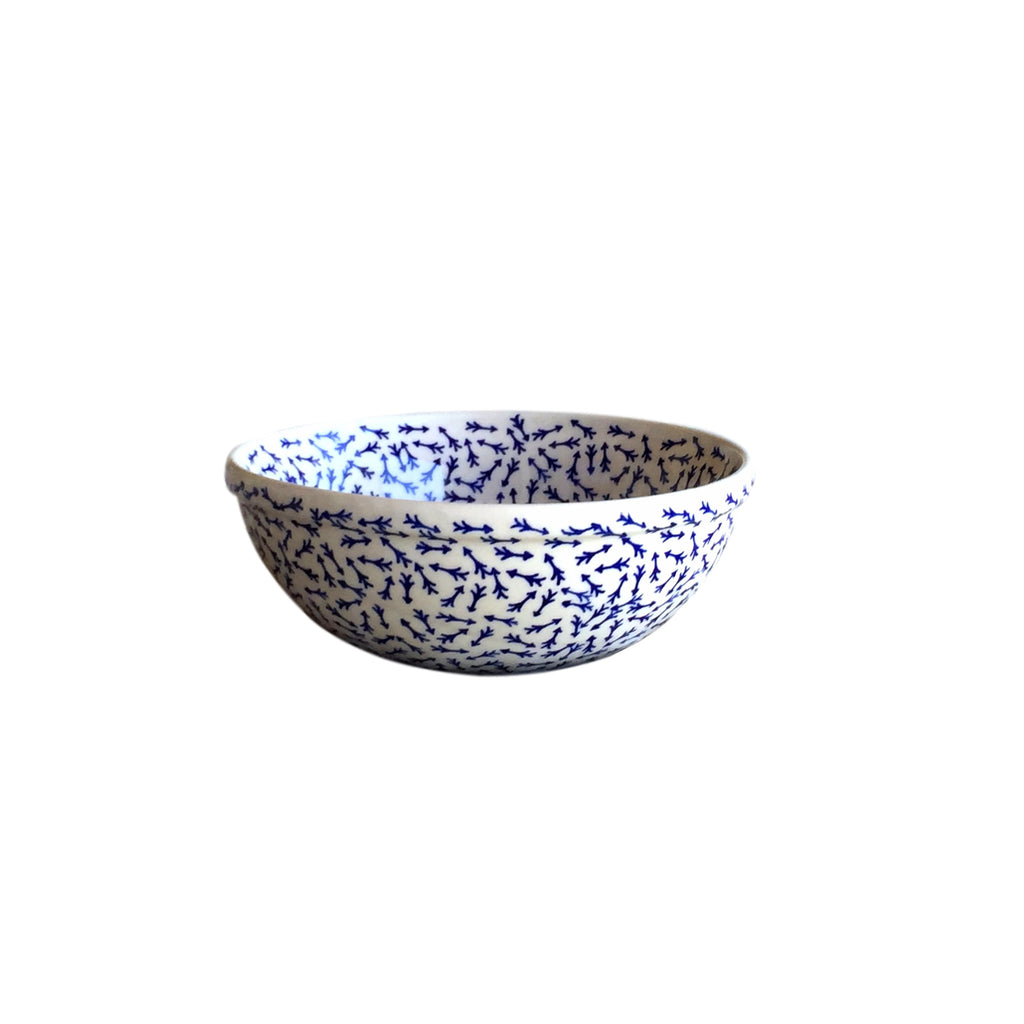 Blue Arrows - Salad Bowl  Polish Ceramics - PasParTou