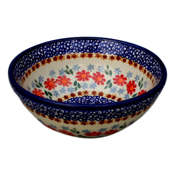 Country Floral - Salad Bowl  Polish Ceramics - PasParTou