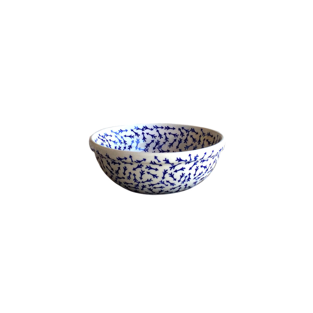 Blue Arrows - Dessert Bowl  Dinnerware - PasParTou