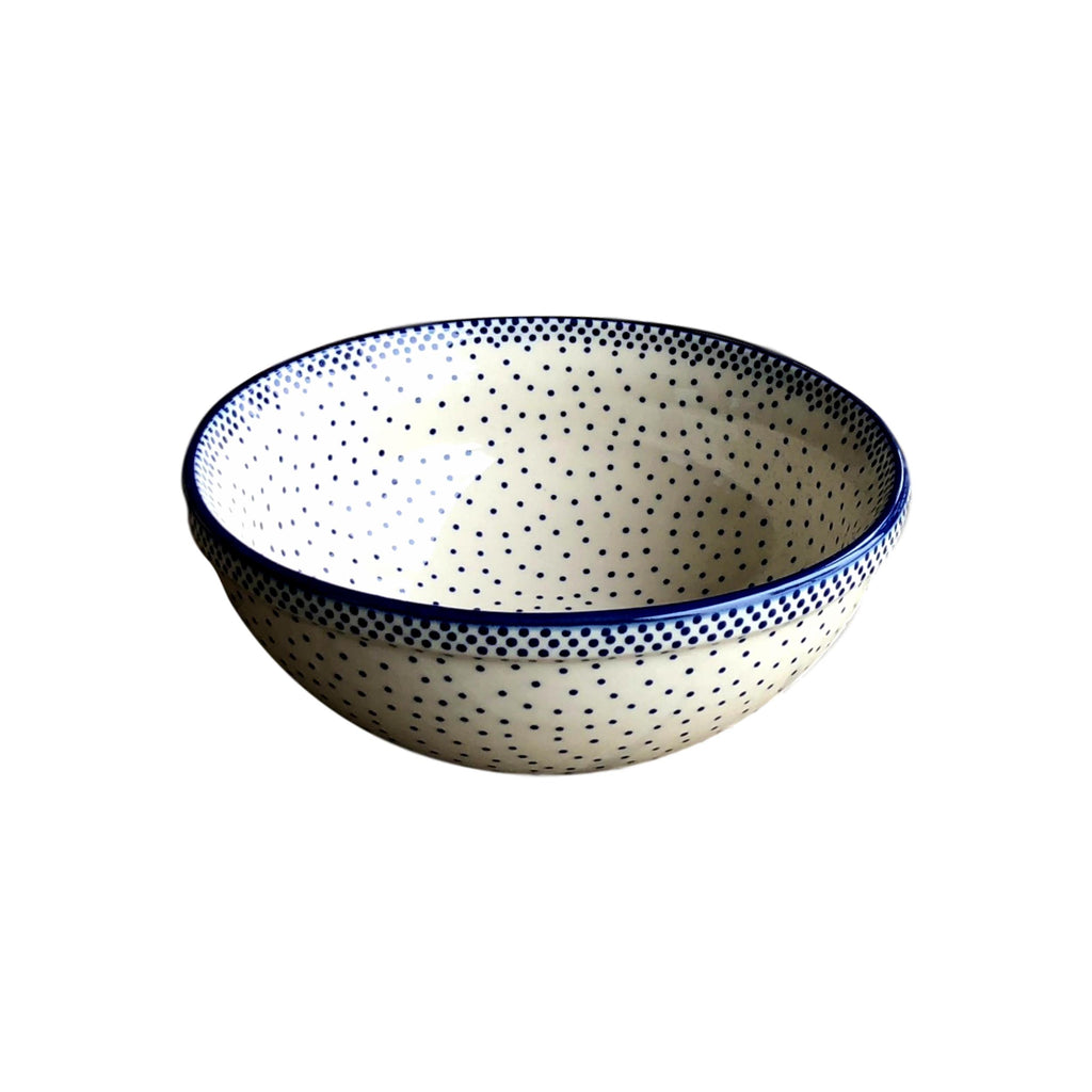 Tiny Blue Dots - Small Serving Bowl