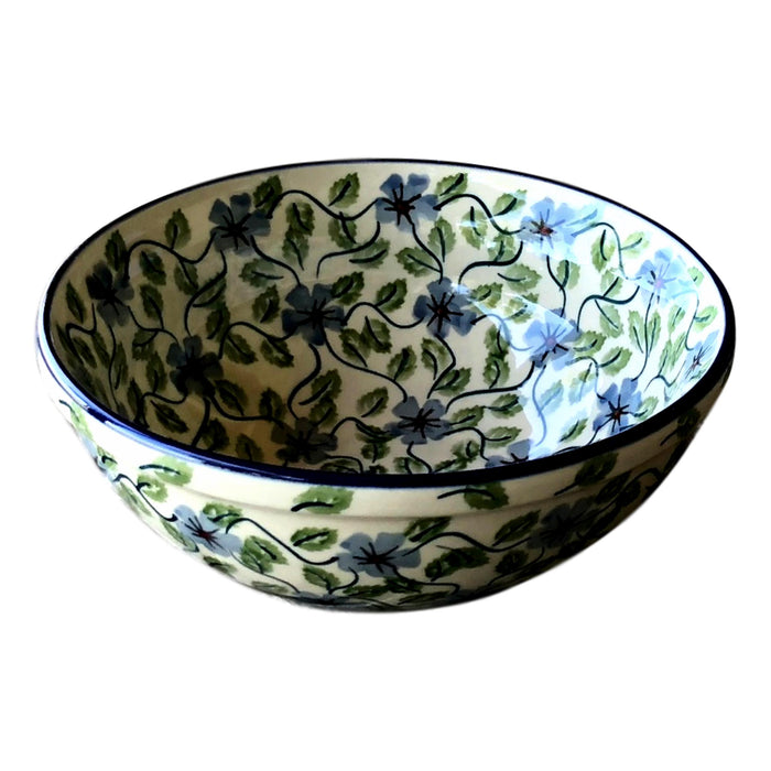 Spring Floral - Small Serving Bowl  Polish Ceramics - PasParTou