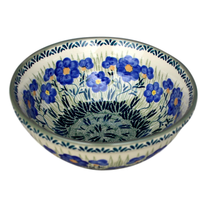 Meadow - Small Serving Bowl  Polish Ceramics - PasParTou