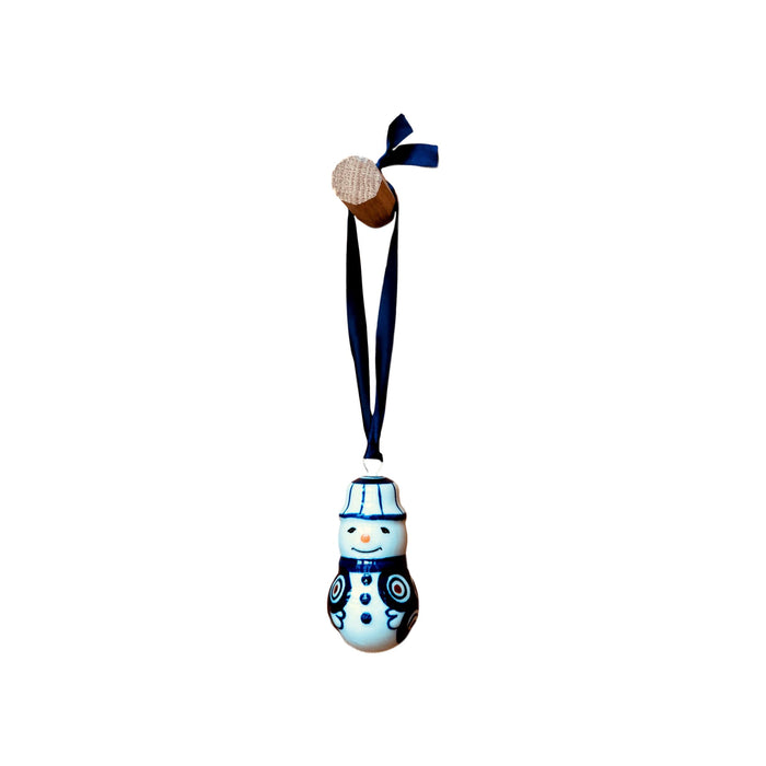 Ornament - Polish Pottery - Snowman