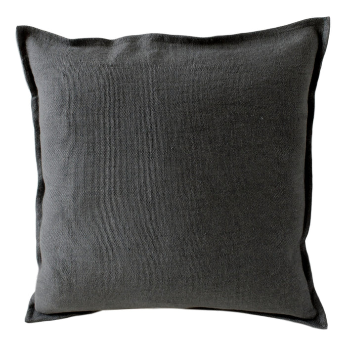 Pillow Soft Washed Linen Dark Blue - PasParTou