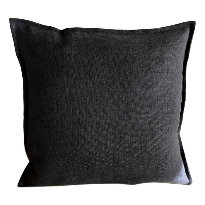 Pillow Soft Washed Linen Dark Grey - PasParTou
