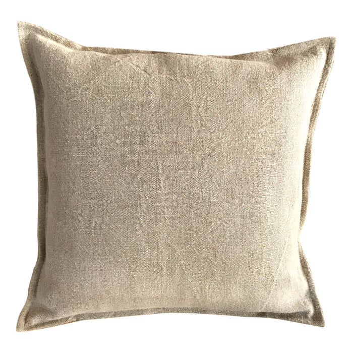 Pillow Soft Washed Linen Oatmeal - PasParTou