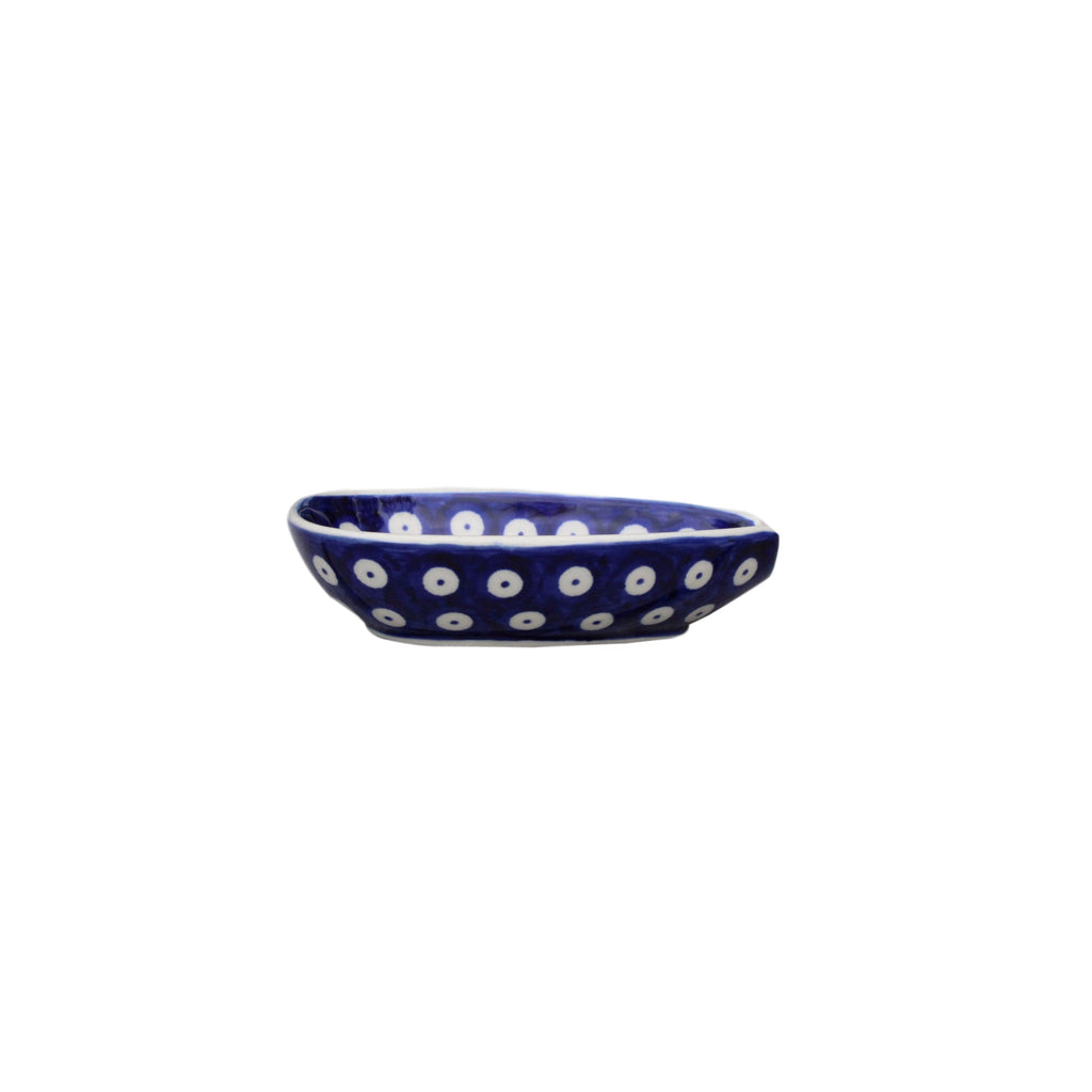 Dots in Dots - Spoon Holder  Polish Ceramics - PasParTou