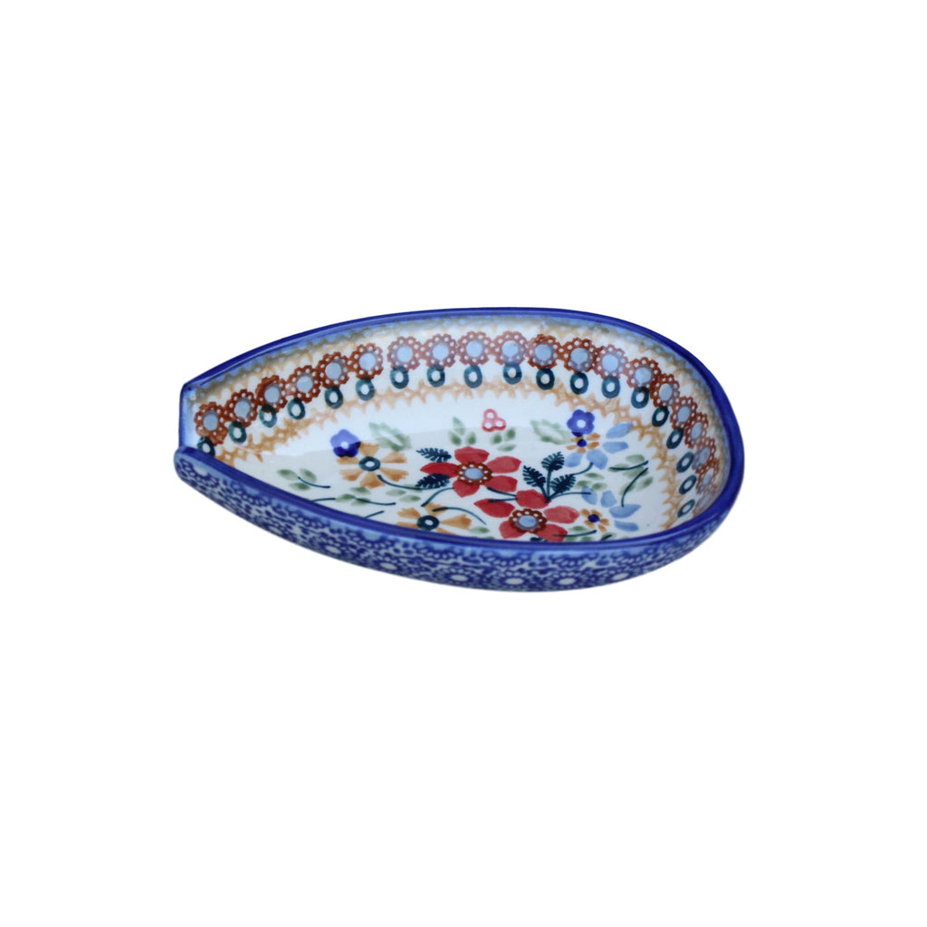 Harvest Floral 2 - Spoon Holder  Polish Ceramics - PasParTou