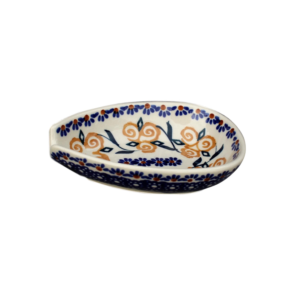 Golden Rose - Spoon Holder  Polish Ceramics - PasParTou