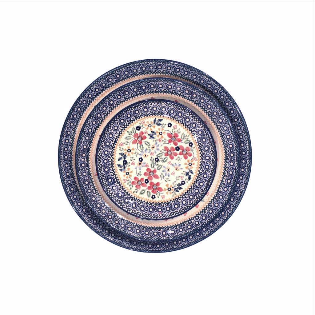 Harvest Floral -Set of Dinner Salad Dessert Plates - PasParTou