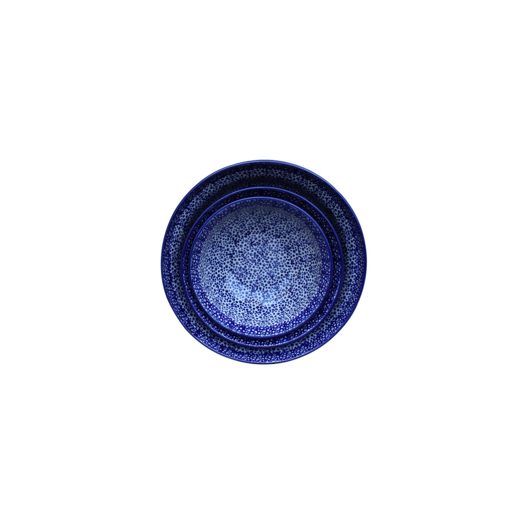 Blue Spatter - Set of Bowls - Pas-Par-Tou
