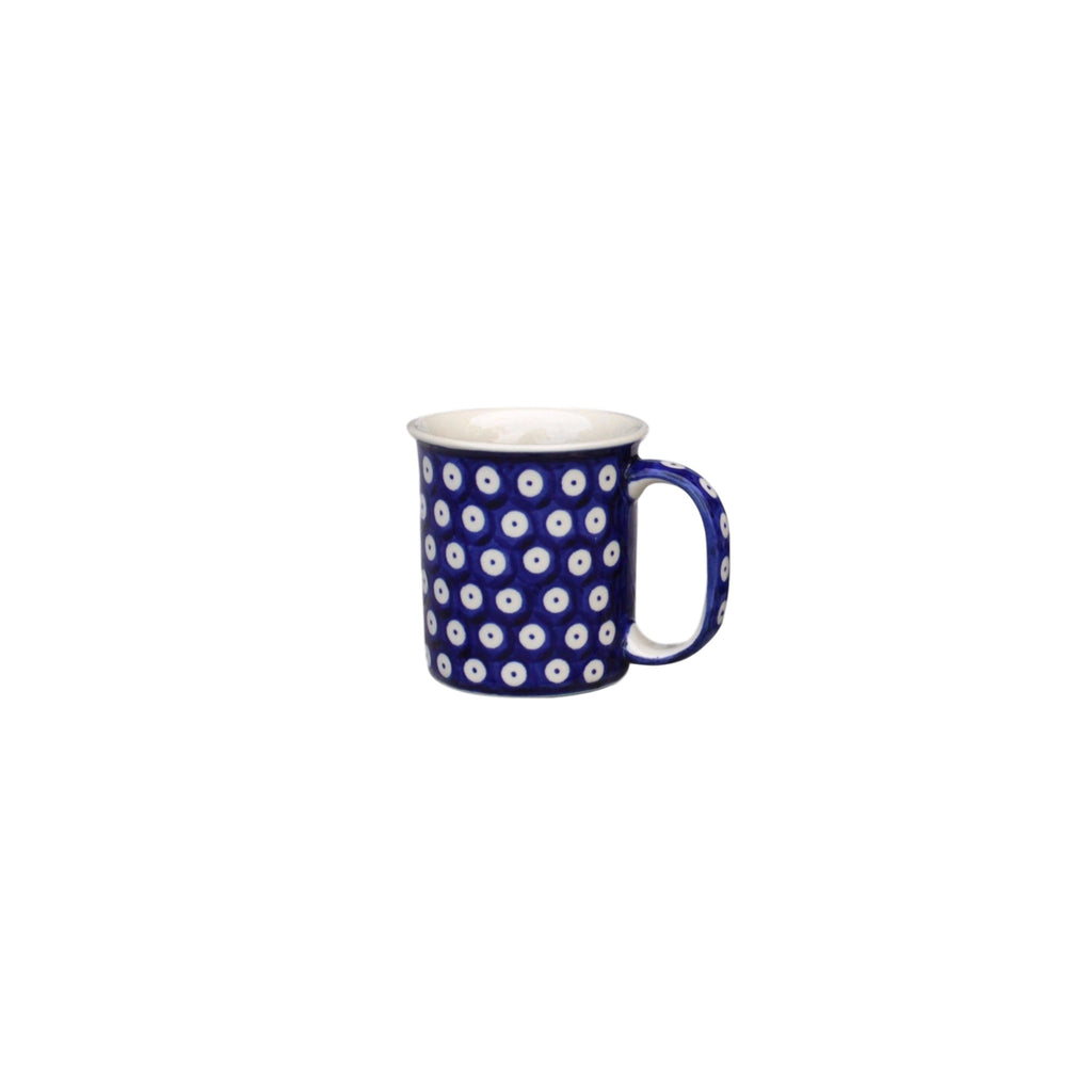 Dots in Dots - Classic Handled Mug  Polish Ceramics - PasParTou