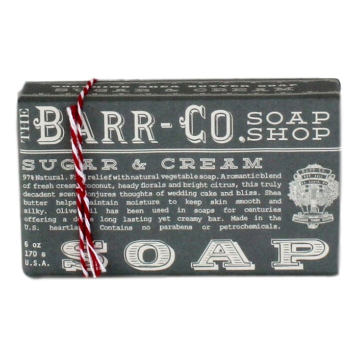 Barr Soap - Sugar + Cream