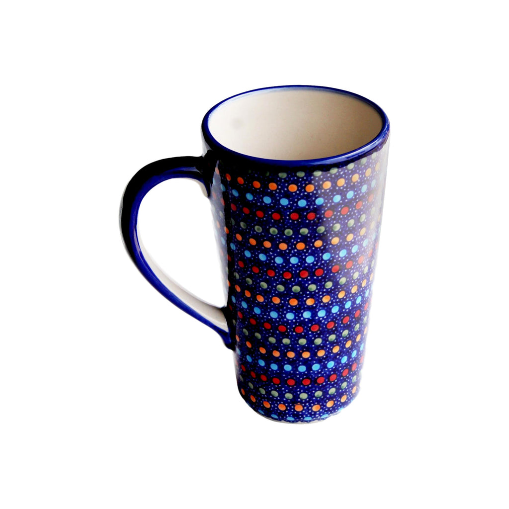 Multi Dots - Tall Mug  Polish Ceramics - PasParTou