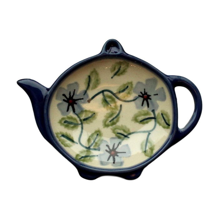 Spring Floral - Tea bag Holder  Polish Ceramics - PasParTou