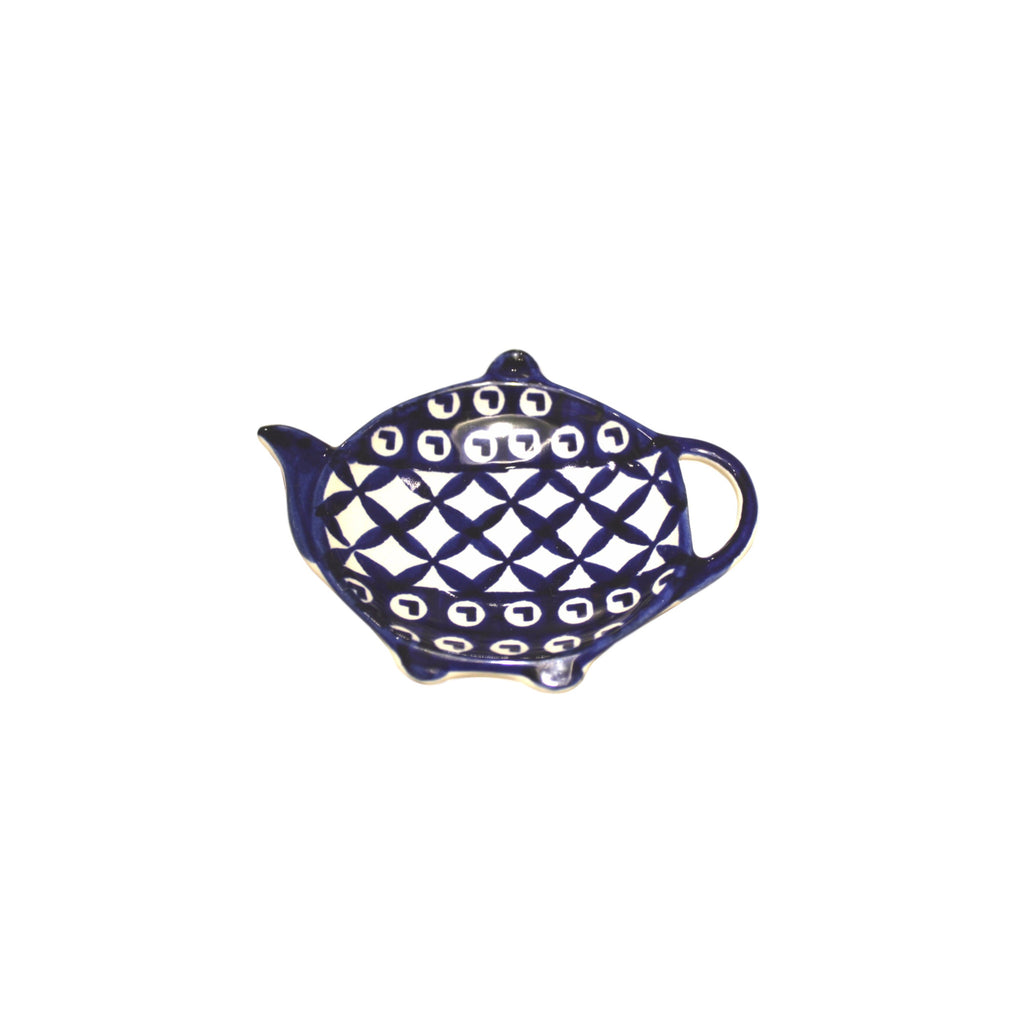 Lattice - Tea bag Holder  Polish Ceramics - PasParTou