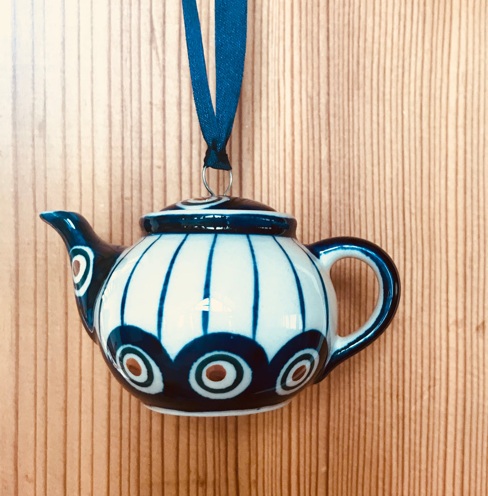 Ornament - Polish Pottery - Teapot
