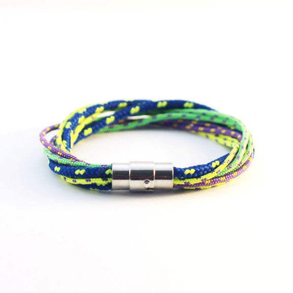 Twist Cool Brights Rope Bracelet - PasParTou