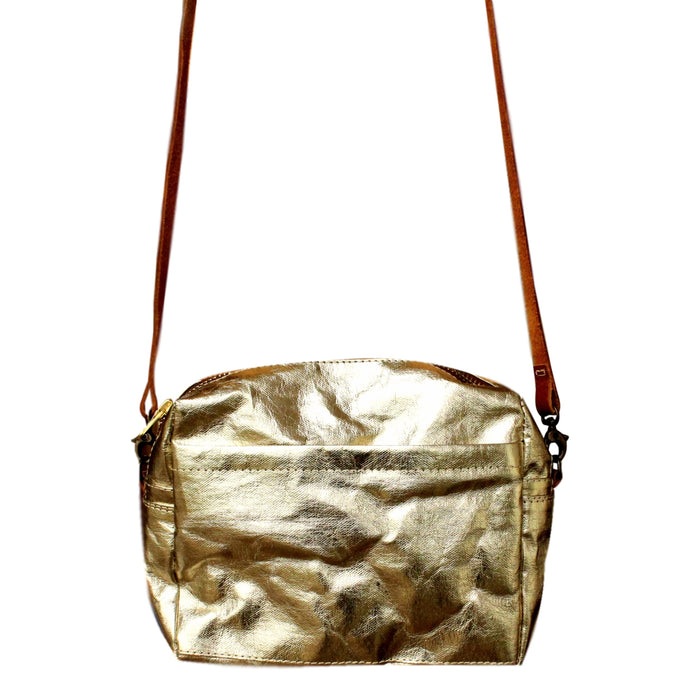 lightweight handbag, best travel bag, soft metallic color handbag, eco friendly bag, pas-par-tou