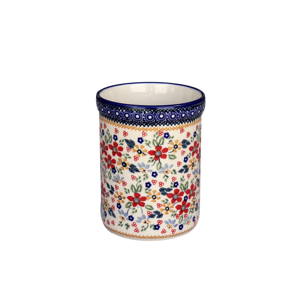 Harvest Floral - Utensil Holder  Polish Ceramics - PasParTou