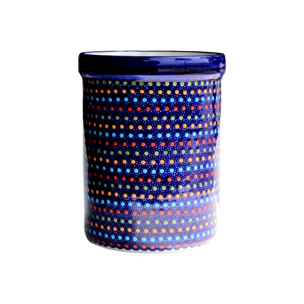 Multi Dots - Utensil Holder  Polish Ceramics - PasParTou