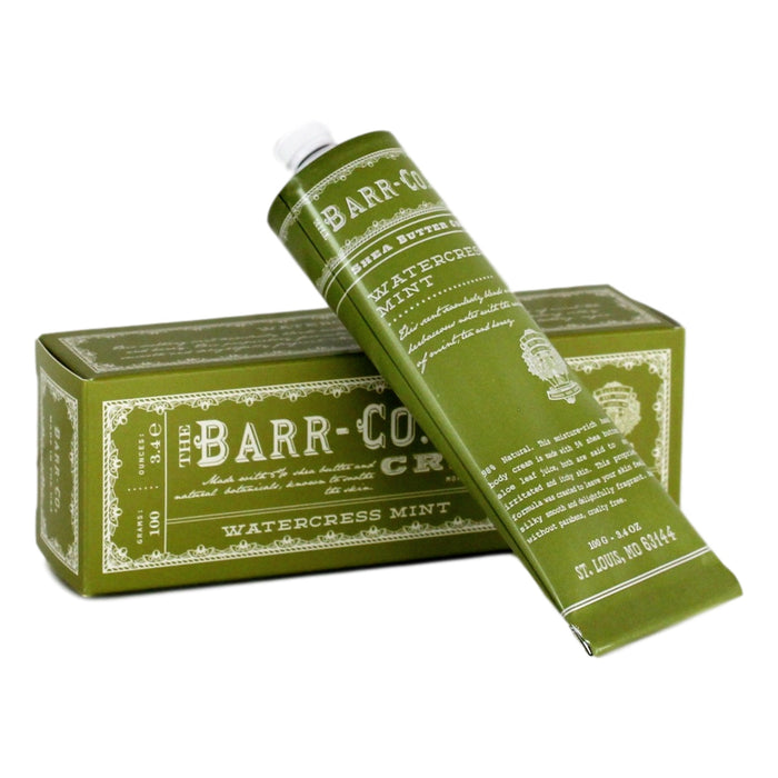 Barr Cream in Tube - Watercress Mint  bath + body - PasParTou