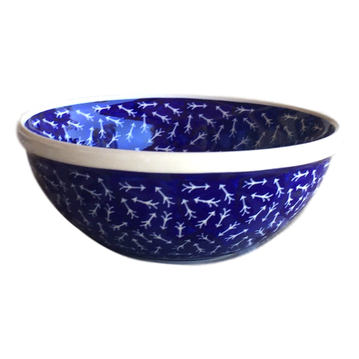 White Arrows - Small Serving Bowl - PasParTou