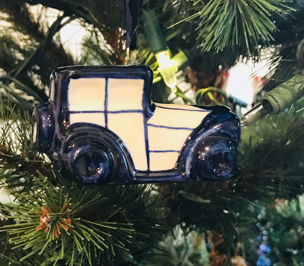 Ornament - Polish Pottery - Car