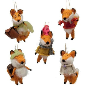 Ornament - Foxy Fellow  Christmas Ornaments - PasParTou