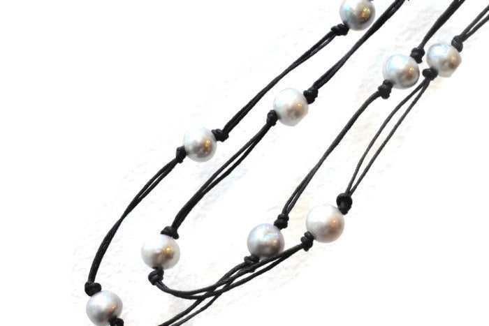 "Classic Pearl Necklace 36""  Jewelry - PasParTou"