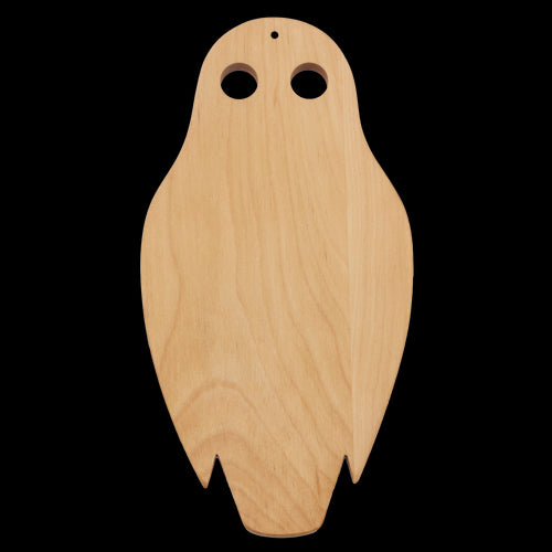 Cheese Board - Owl with Spreader  serving board - PasParTou