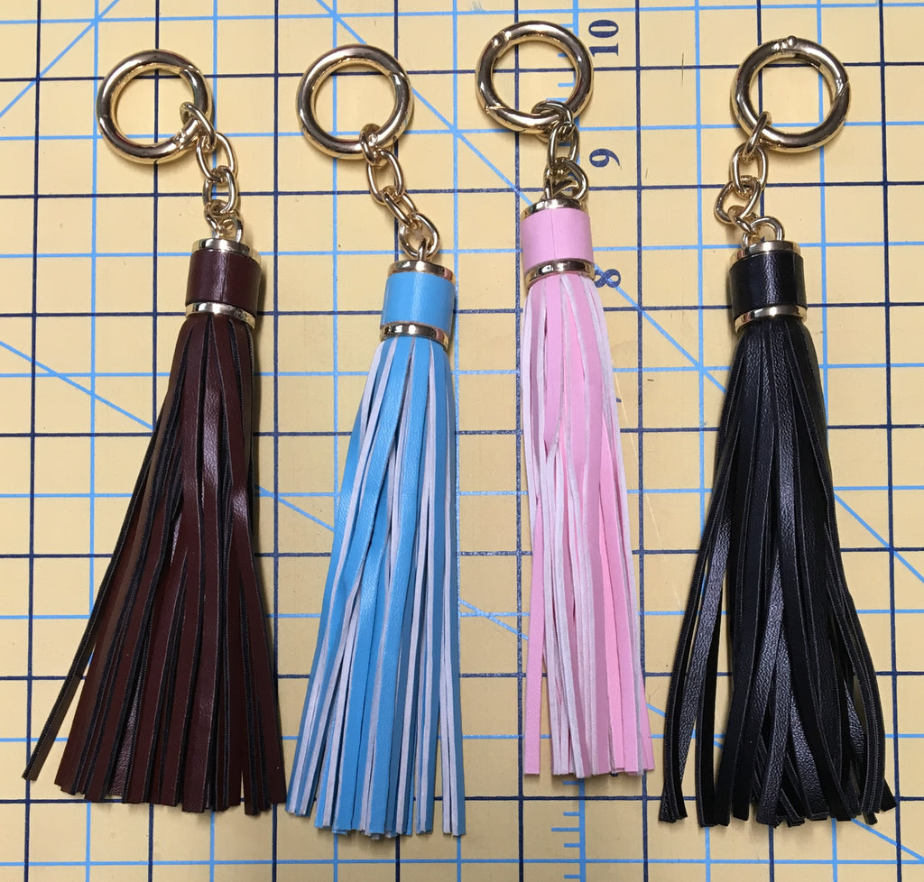 Dangles - Faux Leather Tassles