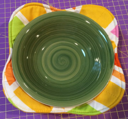 "Microwave Bowl Cozy Template 3 BUNDLE  - 12.5"", 10 1/2"", 10"""