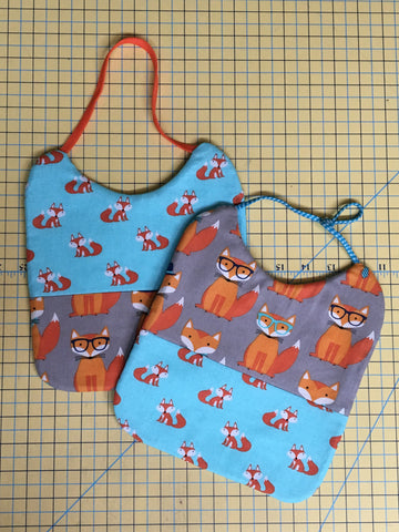 Baby Bib Template plus 8 Elastic Headbands