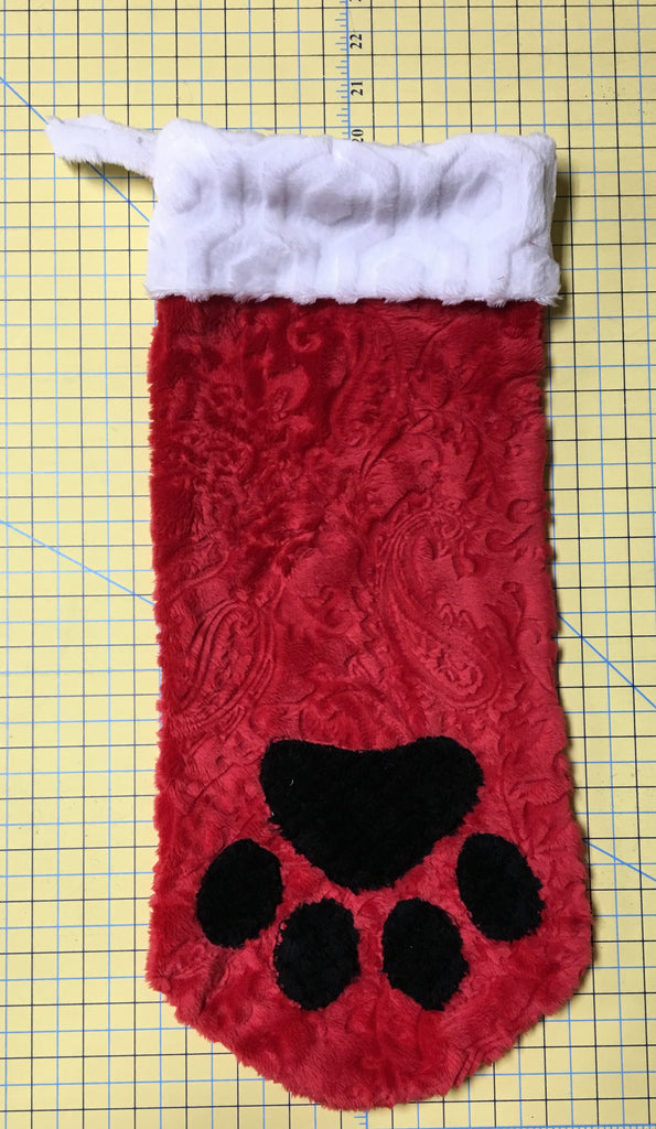 Martelli Stocking Template Set - Paw Print ONLY - 5 piece - Large ...