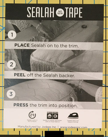 Sealah No Sew Tape: Variety Bundle