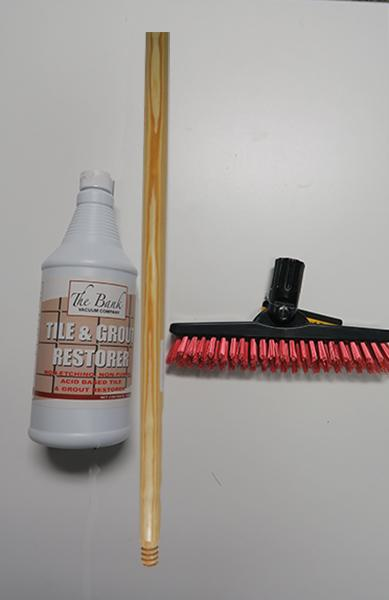 Bank Grout Brush