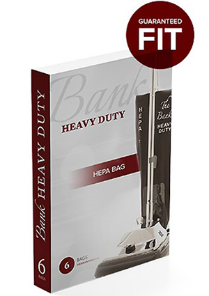 Bank Heavy Duty HEPA Bag (Box of 6)