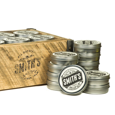 Smith's Leather Balm - 1 oz tin