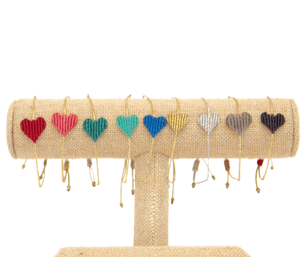 MACRAME LOVE BRACELET - SMALL