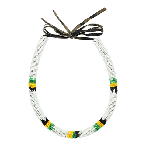 Zulu Style Tribal Tube Necklace