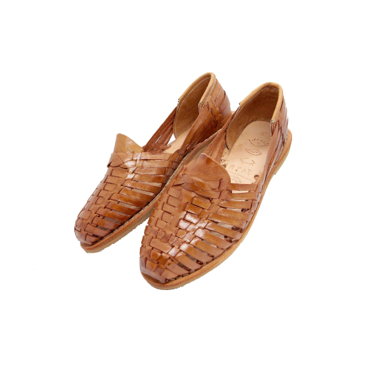 Parpadeo Handmade Mexican Leather Women's Huaraches - Eye Heart Curated