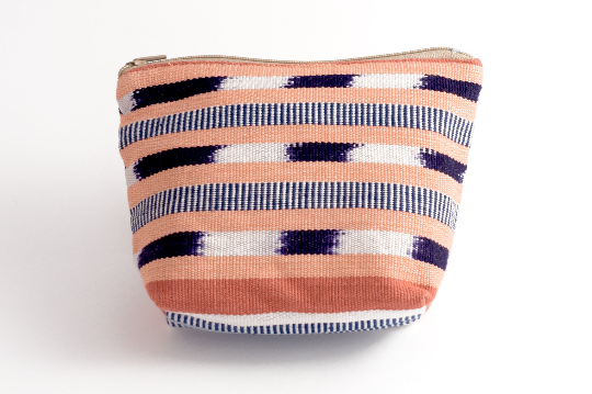 Handwoven Pastel Pouch - Medium - Eye Heart Curated